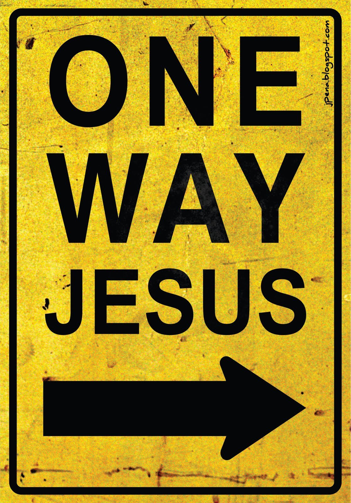 jesus one way - photo #1