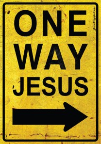 One Way Jesus-2